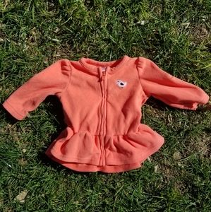 3m girl Just one you zip up sweater